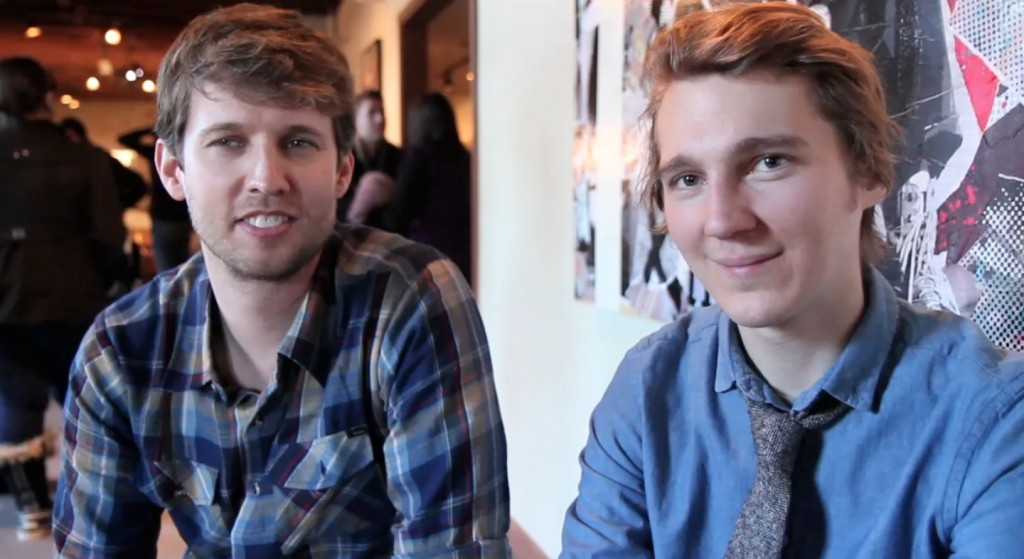 Paul Dano and Jon Heder talk about their Sundance film 'for Ellen'