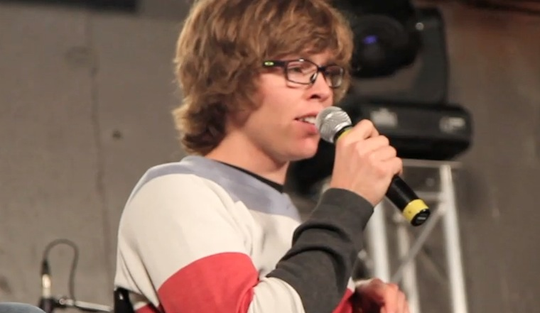 Kevin Pearce's first time back in Park City since his accident.