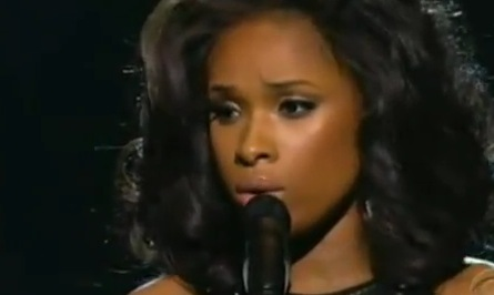 Grammy Tribute to Whitney Houston: Jennifer Hudson performs I Will Always Love You