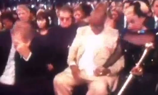 Video: Grammy's Awkward Opening Prayer to Whitney Houston